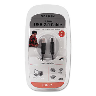 Belkin® Pro Series USB 2.0 Cable - 10 ft.