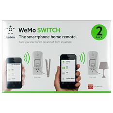 Belkin WeMo Outlet - 2 Pack