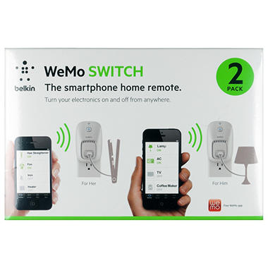 Belkin WeMo Outlet - 2 Pack