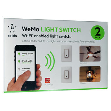 Belkin WeMo Light Switch - 2 Pack