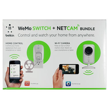 Belkin WeMo Switch and NetCam Bundle