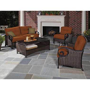 La-Z-Boy Outdoor Isabella Deep Seating Set - 4 pc.