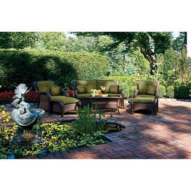 La-Z-Boy Outdoor Griffin Deep Seating Outdoor Patio Furniture Set - 6 pc.