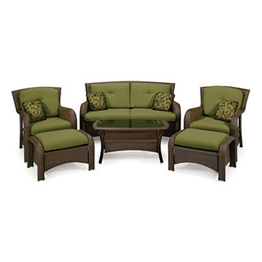 La-Z-Boy Outdoor Griffin Deep Seating Outdoor Patio Furniture Set - 6 pc.