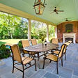 Kerrington Outdoor Patio Dining Set 7 pc.