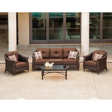 La-Z-Boy Outdoor Eva 4 pc. Deep Seating Set