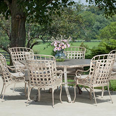 Earhart 7-Piece Dining Set with Premium Sunbrella® Fabric