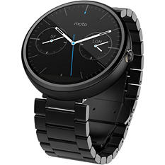 Motorola Moto 360 Smartwatch - Choose Band Type and Color