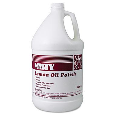Misty Lemon Oil Polish - 1 gal. - 4 pk.