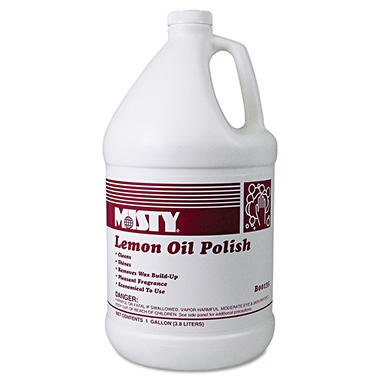 Misty Lemon Oil Polish - 1 gal. - 4 pk.