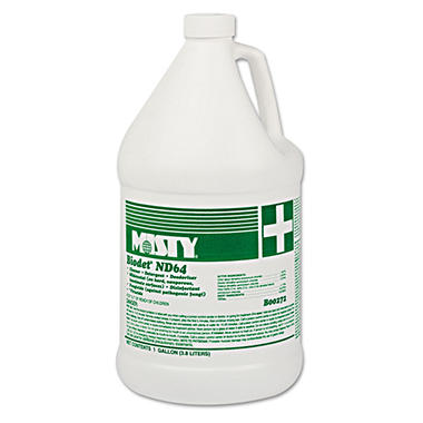 Misty BioDet ND64 Cleaner - Lemon Scent - 1 gal. - 4 pk.