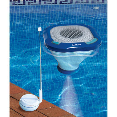 Floating Wireless Speaker for Swimming Pools