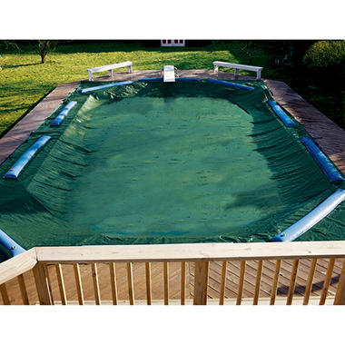 LifeSmart 25'x45'12 Yr Winter Cover for In Ground Pools