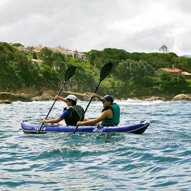 Multi-Sport Inflatable Convertible 1-2 Person Kayak