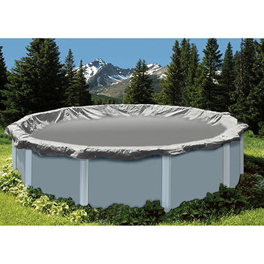LifeSmart 28' Round 15 Yr Winter Cover for Above Ground Pools