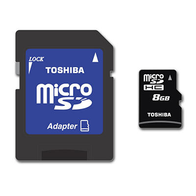 Toshiba 8GB Micro SD Card