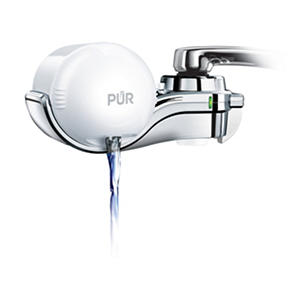 PUR Ultimate Horizontal Faucet Water Filter (White)