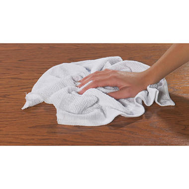 "Chef Revival Ribbed Bar Mop Towel - 24 oz. - 16""D x 19""W"