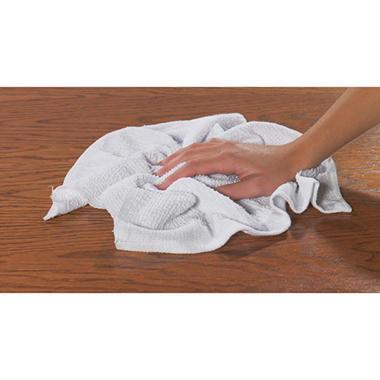 Chef Revival Full Terry Bar Mop Towel - 30 oz. - 12 pk.