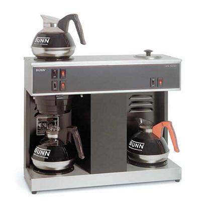 Bunn® VPS Commercial Pourover Brewer with 3 Warmers