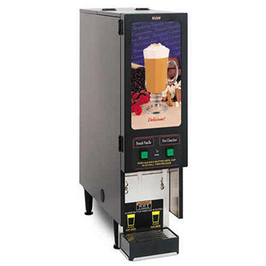 Bunn� Fresh Mix Hot Drink Dispenser with 2 Hoppers
