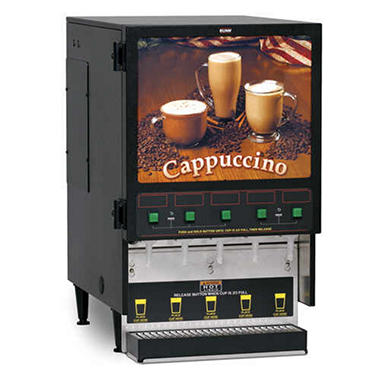 Bunn® Fresh Mix Hot Drink Dispenser with 5 Hoppers