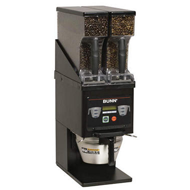 Bunn MHG Multi-Hopper Coffee Grinder, Black