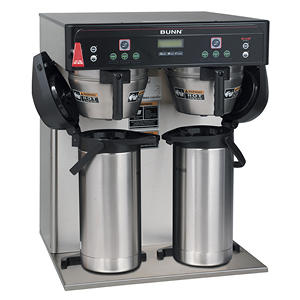 Bunn® ICB Twin Infusion Coffee Brewer Airpots