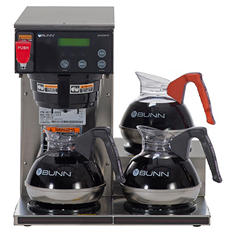 Bunn AXIOM DV-3 - 12-Cup Automatic Brewer with 3 Lower Warmers