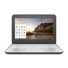 "HP Chromebook 11-2210nr 11.6"" Notebook, Intel Celeron N2840, 2 GB RAM, 100 GB Google Drive, Chrome OS"