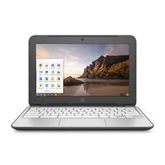 "HP Chromebook 11-2210nr 11.6"" Notebook, Intel Celeron N2840, 2 GB RAM, 100 GB Google Drive, Chrome OS"