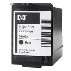 HP C6602A Original Ink Cartridge, Black
