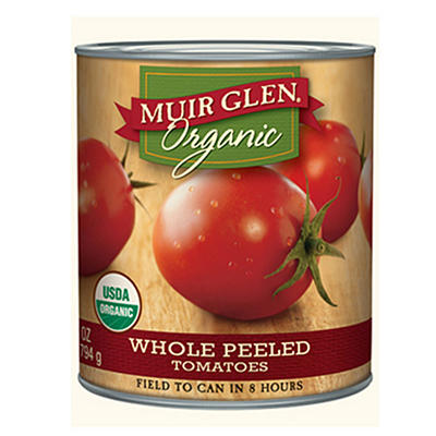 Muir Glen Organic Whole Peeled Tomatos (28 oz ea., 4 ct.)