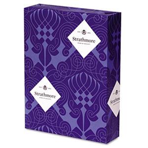 Strathmore - Premium Sulphite 30% Recycled Fine Paper, 24lb, Bright White - Ream