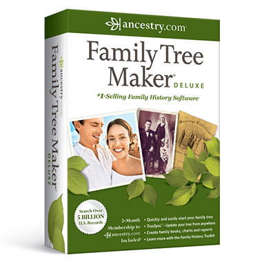 Ancestry.com® Family Tree Maker® Deluxe