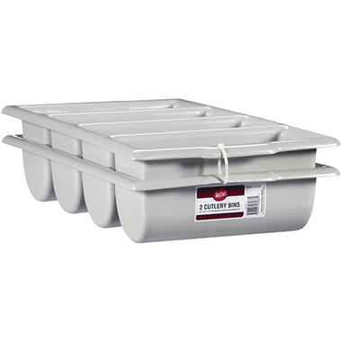TableCraft® Cutlery Bins - 2 ct.