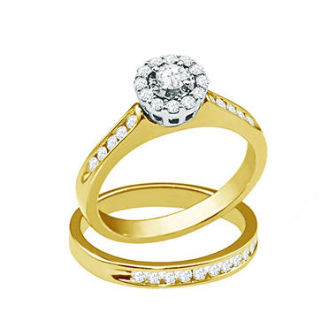 Via Del Amor 0.75 ct. t.w. Round Cut Diamond Ring in 14K Two-Tone Gold (H-I, I1)