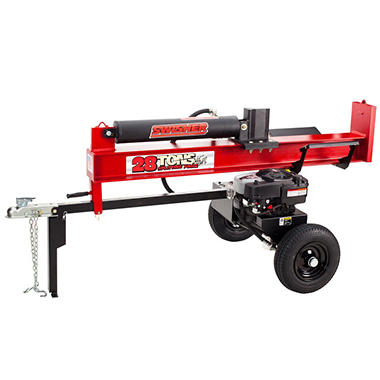28 Ton 8.75 Gross Torque Log Splitter