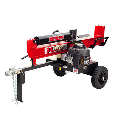 34 Ton 12.5 HP Log Splitter