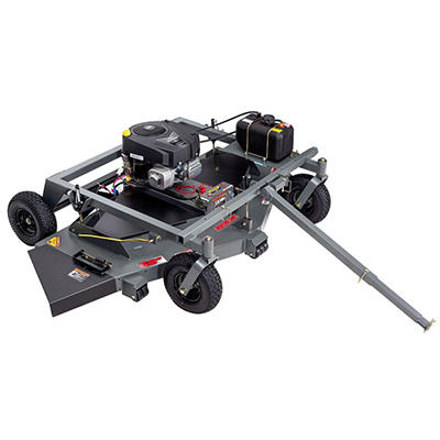 "Swisher 19 HP 66"" Electric Start Finish Cut Trail Mower California Compliant - Powered by Briggs & Stratton"