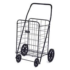Jumbo-A Shopping Cart - Black