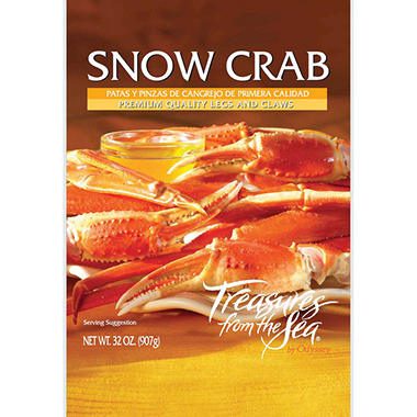 Treasures of the Sea Snow Crab - 2 lb.