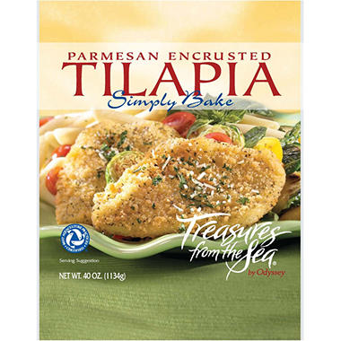 Treasures from the Sea® Parmesan Tilapia - 40 oz.