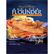Treasures from the Sea® Breaded Flounder - 40 oz.