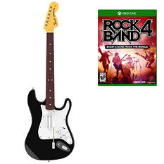 Rock Band 4: Wireless Guitar Bundle for Xbox One