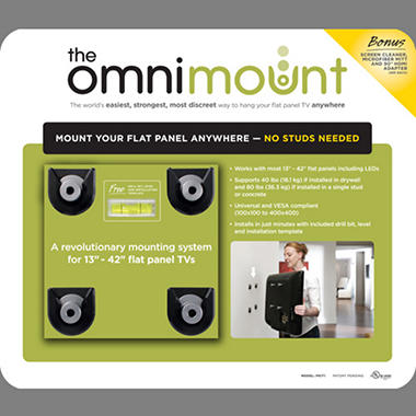 "OmniMount Flat Panel Mount 13"" to 42"""
