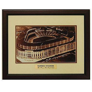 Vintage Yankee Stadium Framed 11