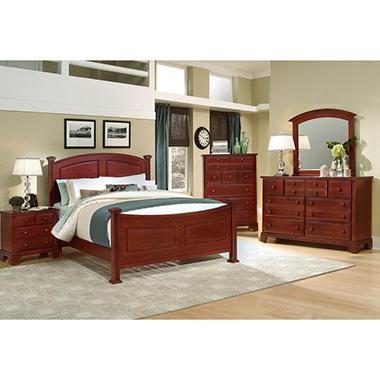 Elm Panel Bedroom Set King 5 Pc Set Sam 39 S Club