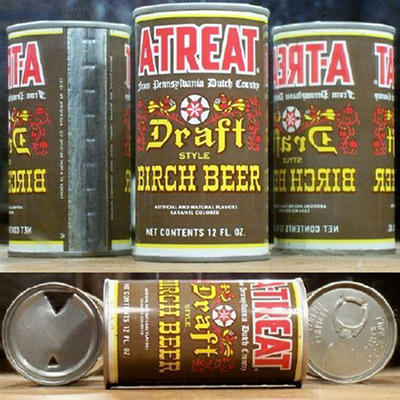 A-Treat Birch Beer (12 oz. cans, 24 pk.)