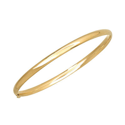 """7"""" Bangle in 14K Yellow Gold"""